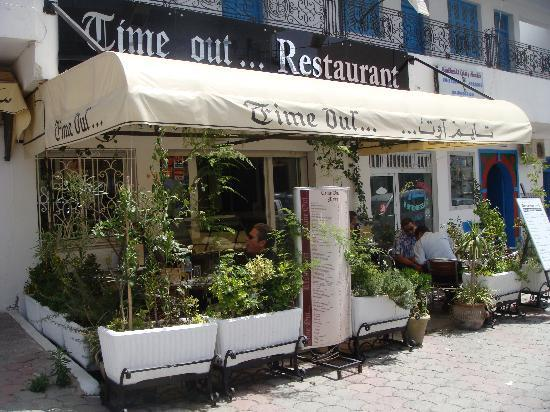 Time Out Restaurant : Outside
