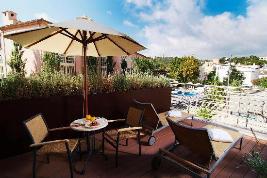 Hotel Isla Mallorca & Spa: Superior Room with Terrace - Outside