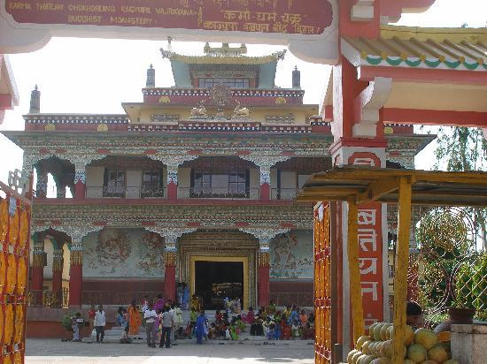 Bodh Gaya, India: Tibetan Temple