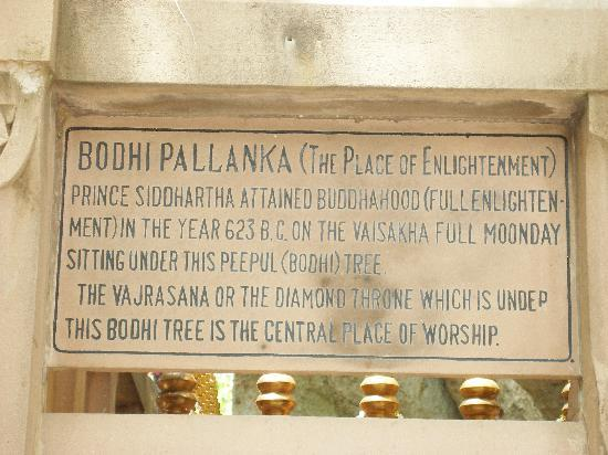 Bodh Gaya, India: Place of enlightenment