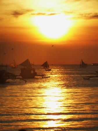 Villa Romero de Boracay: boracay sunset