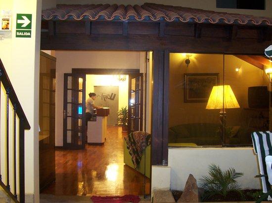 Hotel LLaqta: Recepción