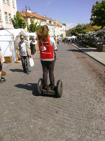 Super SEGWAY : Tour Guide Migla on a Segway