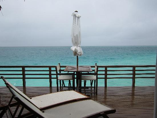 Baros Maldives: The worse it can get - a rainy day in the Maldives!