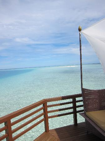 Baros Maldives: And then we had some...