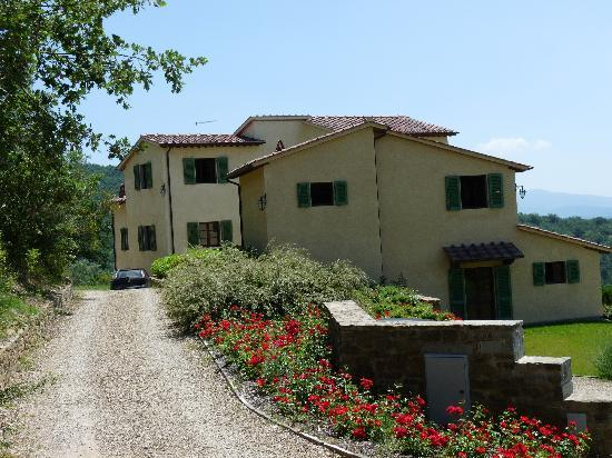 San Giustino Valdarno, Italie : Private driveway entrance
