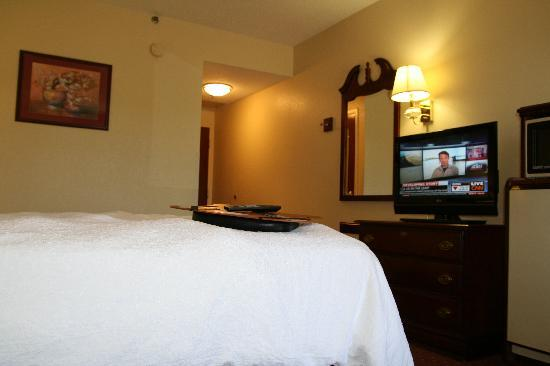 "Hampton Inn Louisville I-65 @ Brooks Rd.: New 32"" LCD Televisions in all rooms"