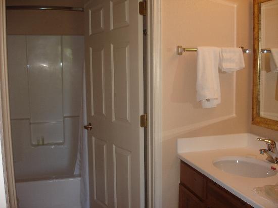 Staybridge Suites Lincolnshire: bath & sink area