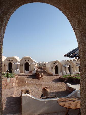 Lagona Dahab Hotel: Blick von Standard Zimmern zu Superior Bereich