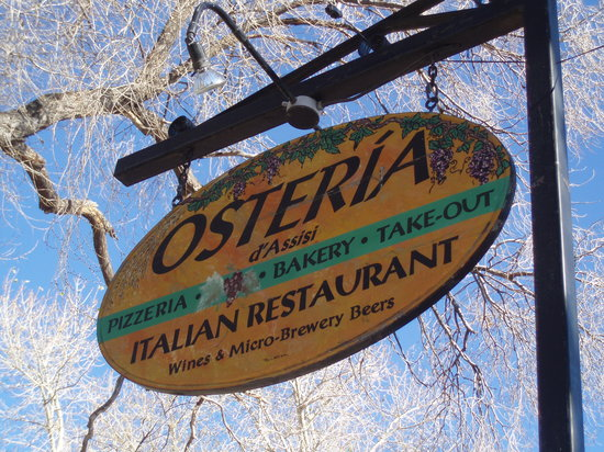 Osteria d'Assisi: sign