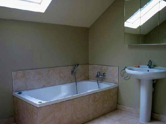 Lake Wanaka Villas at Heritage Village Country Resort: Spa Bath