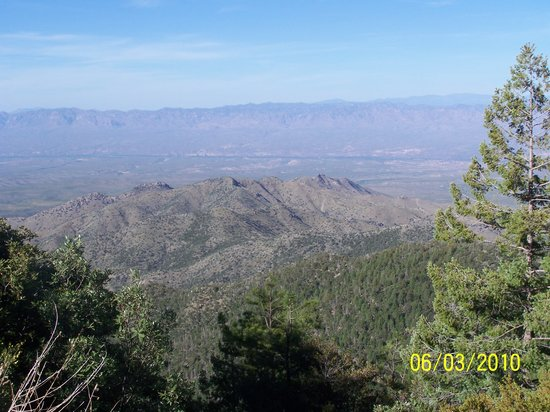 Mount Lemmon, AZ : View from higher elevation