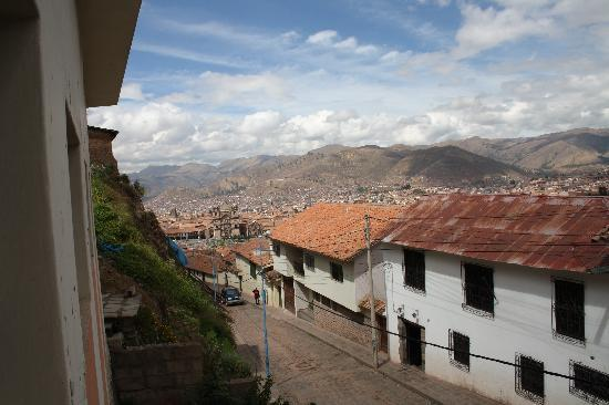 The Walkon Inn Cusco: The view from our window
