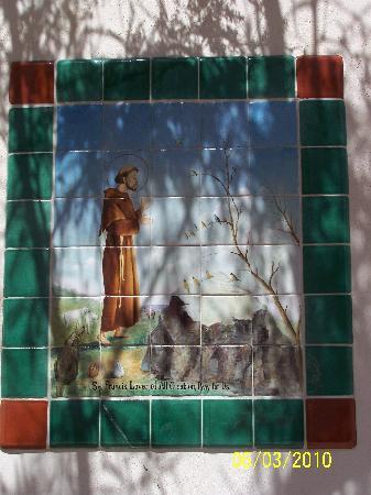 Mission San Xavier del Bac: San Xavier Mission Mosaic