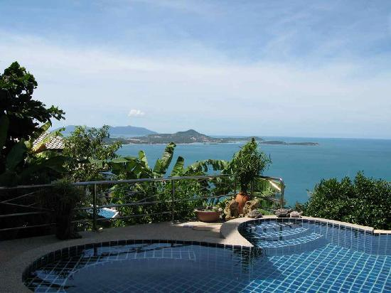 Laem Sila Resort: nice pool view