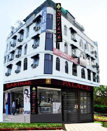 Hotel Sarthak Palace: From Outside