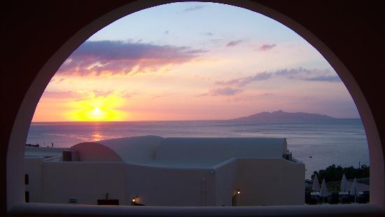Epavlis Hotel: So sahen wir den Sonnenaufgang