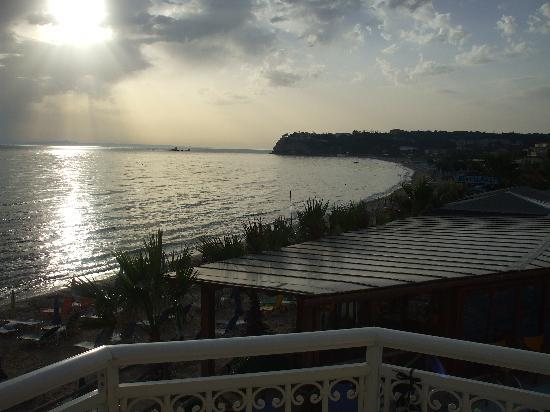 Tsilivi Beach Hotel: View from hotel room