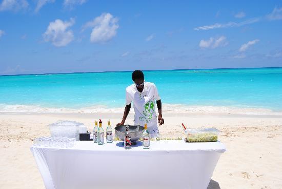 Club Med Columbus Isle: il pranzo in spiaggia