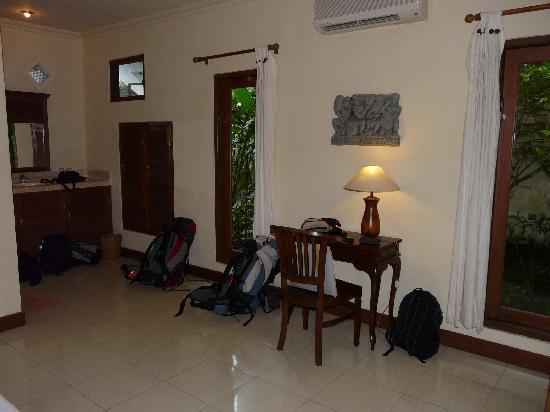 Ubud Bungalow : Zimmer mit AC