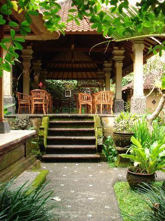 Ubud Bungalow : Frühstücksraum