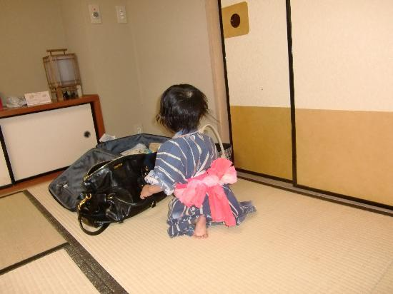 Hotel Kowakuen: ゆかたかわいい