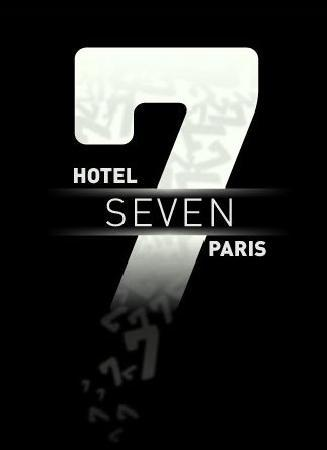 seven hotel logo picture of seven hotel paris paris tripadvisor. Black Bedroom Furniture Sets. Home Design Ideas