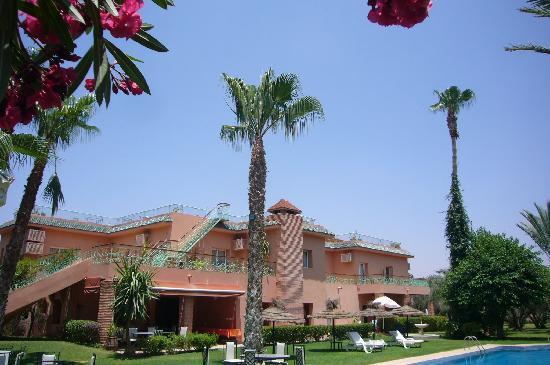 Villa des Trois Golfs: Vue exterieure de l'hôtel