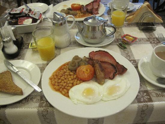 Adria Hotel: 朝食です。