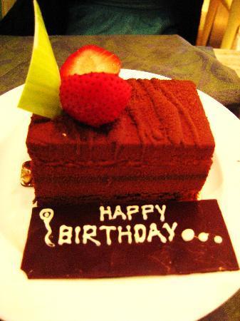 Amici: Complimentary Birthday Cake