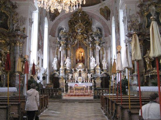 The baroque catholic church in oberammergau picture of for Baroque hotel