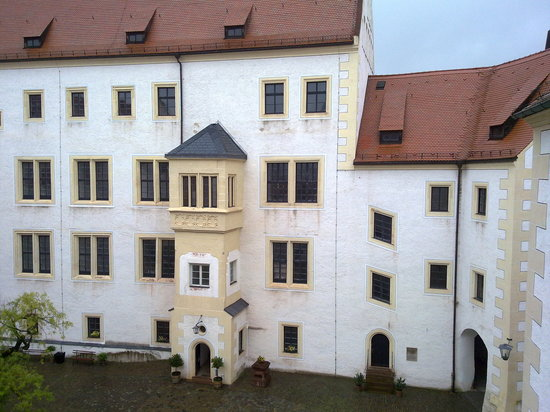 Colditz, Germany: inmates outdoor area