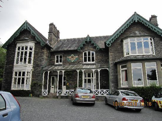 ‪‪Ambleside Lodge‬: Front of Ambleside Lodge‬