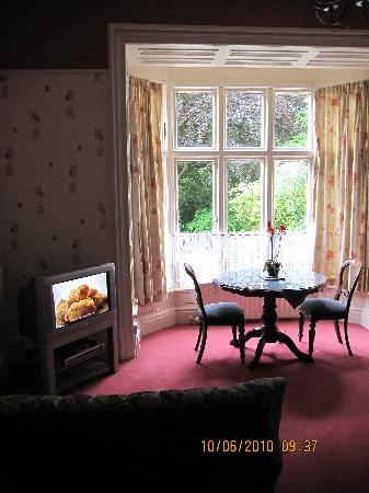 Ambleside Lodge: Sitting area of bedroom