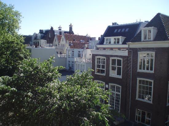 Hotel de Westertoren : vista dalla ns finestra
