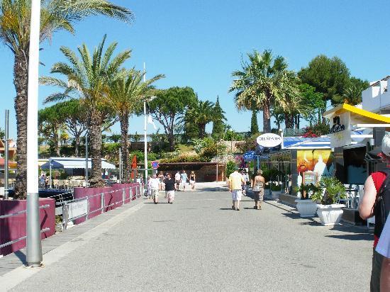 Hotel Praia Sol: ca.10 Min.zu Fuß Hafen von Vilamoura