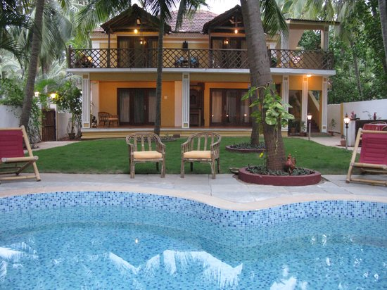 Casa Candolim, View of Pool View Suites