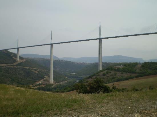 Blanc Sur Sanctus: The famed Millau viaduct.