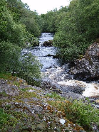 Falls of Shin: River up stream