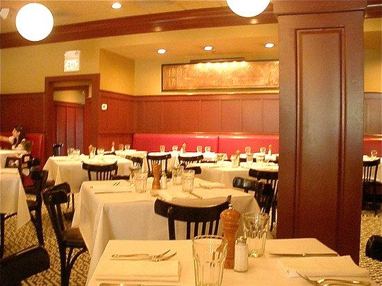 Red Stripe: Dining Room