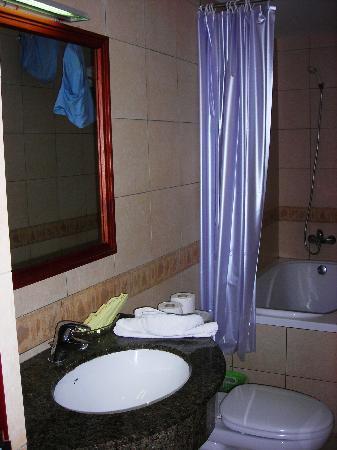 Prince Hanoi Hotel: Bathroom