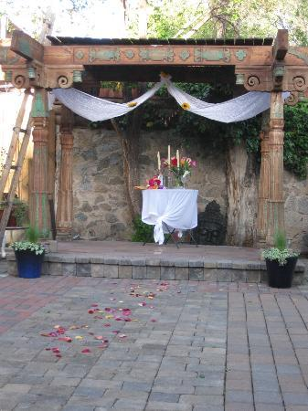 Casa de Estrellas: simple and romantic for us in the wedding garden