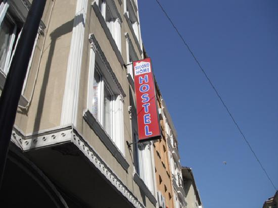 Second Home Hostel: The building