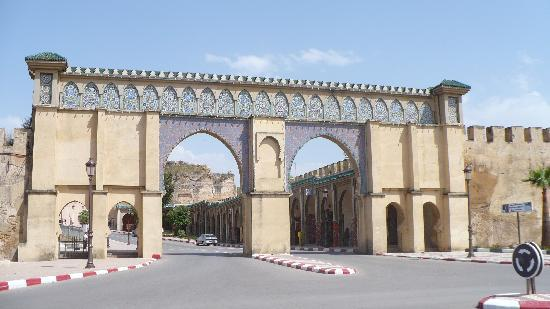 Meknes, Marokko: Others access gate