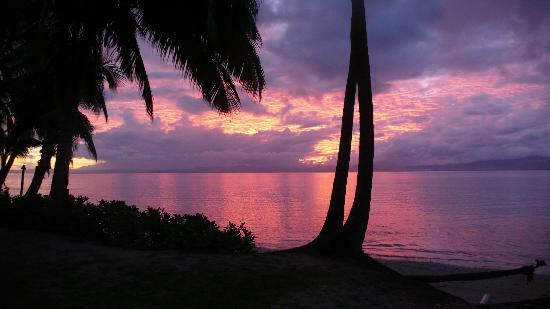 Jean-Michel Cousteau Resort Fiji : Another incredible Sunset
