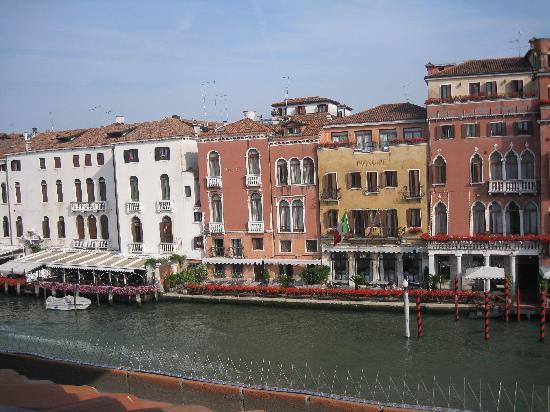 Hotel Canal Grande: View from our room