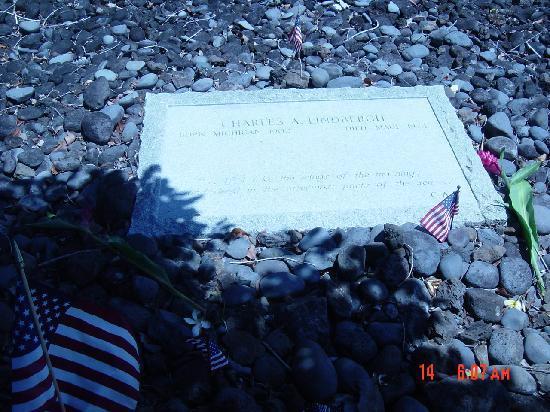 Kipahulu, Havaj: リンドバーグのお墓