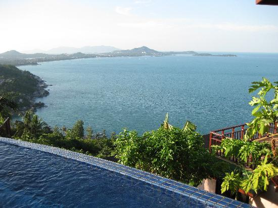 Sandalwood Luxury Villas: View From Hotel Pool