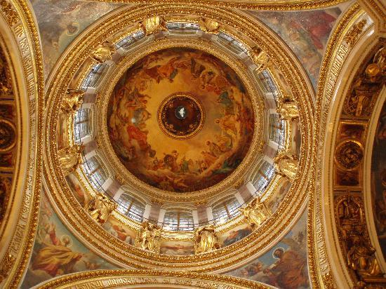 St. Isaac's Cathedral State Museum-Memorial: Interior of the Dome
