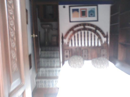 La Casa Azul: El cuarto, algo pequeño, pero funcional